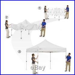 Ozark Trail Instant 10' x 10' 1-Touch Instant Canopy W