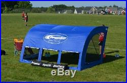 Portable Shelter Tent Premer Soccer Field Hockey Lacrosse Football Hunter Green