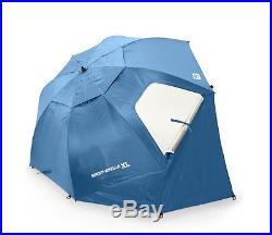 Patio Umbrella Outdoor Beach Camping Canopy XL Tent Sun Shade Portable 9Ft Blue
