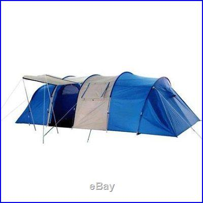Peaktop Outdoor 8-10 Person/Man Camping Tent XX+ Tunnel Family Tent 2+1 Room
