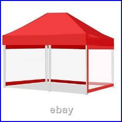 Pop Up Canopy Outdoor Tent Folding Gazebo Party Sun Shade Shelter 10x10' 10x20ft