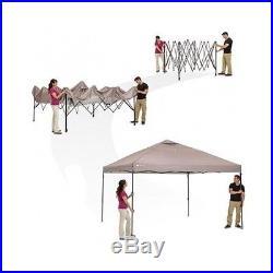 Pop Up Canopy Tent 12'x12' Instant Straight Leg Gazebo Sports Camping Beach NEW