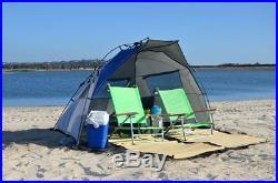 Portable Beach Cabana Sun Shelter Shade Canopy Tent Picnic Backyard Outdoor New