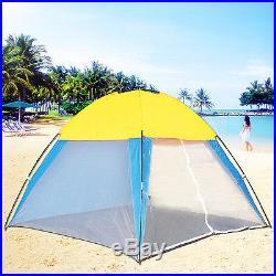 Portable Beach Canopy Sun Shade Shelter Outdoor Camping Fishing Tent Mesh Screen