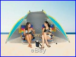 Portable Canopy Sun Shelter Shade Tent Camping Umbrella Beach Cabana