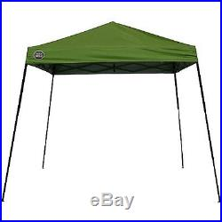 Portable Canopy Tent Shade Outdoor Event Sports Cover Adjustable 10 x 10 GREEN