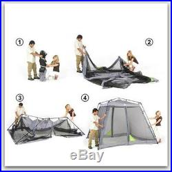 Portable Instant Pop Up Screen Shelter House Outdoor Mosquito Camping Tent Shade
