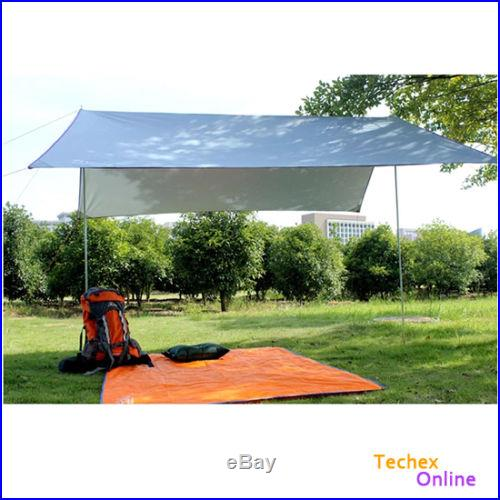 Portable Outdoor Camping Beach Picnic Pad Cushion Canopy Tent Shelter Sun Shade
