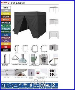 Portable Photo Booth Easy Assembly Required 8ft by 8ft -custom made
