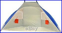 Portable Picnic Canopy Sun Shelter Shade Tent Camping Umbrella Beach Cabana