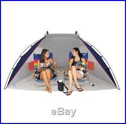 Portable Picnic Canopy Sun Shelter Shade Tent Camping Umbrella Beach Sports