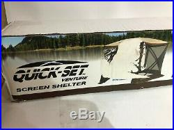 Quick Set 12875 Venture Screen Shelter, Brown/Tan