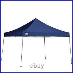 Quik Shade 12'x12' Instant Straight Leg Pop Up Canopy Shelter, Blue (For Parts)