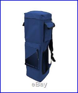 Quik Shade GO Hybrid Compact Slant Leg Backpack Canopy Blue 7 x 7-Foot