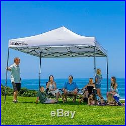 Quik Shade Solo Steel 100 10x10 Instant Canopy, White