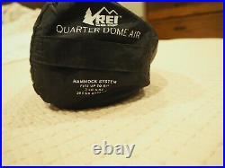 REI Quarter Dome Air Hammock Backpacking Spreader-bar Bugnet Discontinued