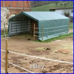 Rhino Shelter House Style Green Horse/Livestock Run In Shelter House