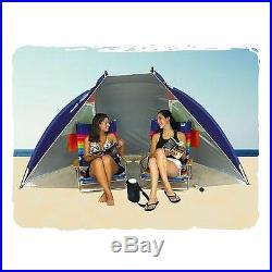 Rio Beach Portable Sun Shelter Canopy -Spf Tent Vacation Travel Outdoor Shade