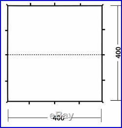 Robens 4x4m Green Trail Tarp / Lightweight Canopy Basha Bivi Shelter New