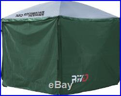 Rockwater Designs Insta-Flex Gazebo Screen Tent with Rain Flaps