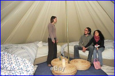 SIBLEY 500 Ultimate tent. Zipped Gsheet, Cotton Bell tent Yurt/Teepee Canvas New