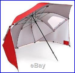 SKLZ Sportbrella 8' Red Sport Brella Shade Umbrella