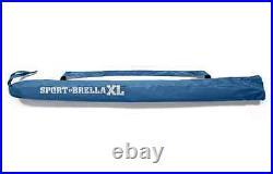 SPORT BRELLA XL PORTABLE SUN SHELTER BEACH PICNIC UMBRELLA BLUE New