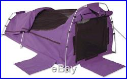 Sahara Nomad PURPLE King Single Dome Canvas Swag & Bag