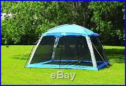 Screen Arbor Shade Canopy 12x12 Shelter Tent Outdoors Backyard Picnics Bug Repel