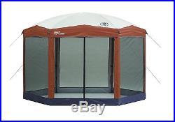 Screen Gazebo Canopy Coleman Shelter Tent 12x10 Shade Outdoor Camping Patio Net