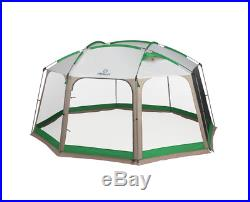 Screen House 14'x12' Outdoor Camping Shelter Hiking Fishing Mosquito Net Green