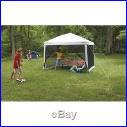 Screen House Shelter Canopy Tent Shade Bug Free Outdoor Camping White New