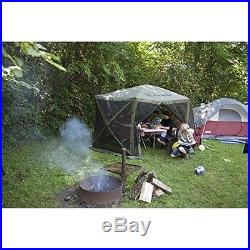 Screen Tent House Gazebo 12x12 Canopy Shelter Camping Survival Kitchen Room Yard