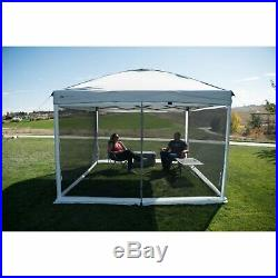 Screen Walls for 10 x 10 Straight-Leg Canopy with 2 Doors Camping Sun Shade Tent