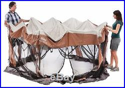 Screened Camping Canopy Shelter Tent Outdoor Bug Net Gazebo New Free Shipping
