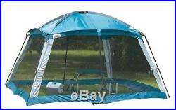 Screened Canopy 12x12 Shelter Shade Tent Camping Backyard Picnics Bug Protection