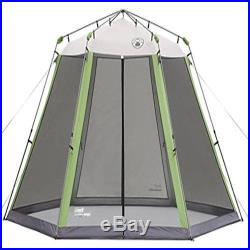 Screened Canopy Camping Beach Shelter Instant Shade Tent Outdoor Room Easy Up