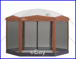 Screened Canopy Sun Shade 12x10 Tent With Instant Setup Pop Up Screen Shelter