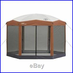 Screened Tent Canopy Sun Shelter Shade Bug Free Outdoors Picnic Barbeque Campout