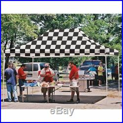 ShelterLogic 10 x 15 ft. Pop Up Canopy -, Checkered Flag, 10 x 15