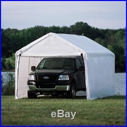 ShelterLogic 10x20 White Canopy Enclosure Kit, Fits 1-3/8 Frame 25775 NEW