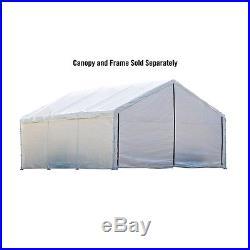 ShelterLogic 1830 White Canopy Enclosure Kit FR Rated 26179 Canopy NEW NEW