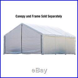 ShelterLogic 18'x20' Super Max Canopy Enclosure Kit in White