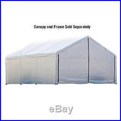 ShelterLogic 18'x30' Canopy Enclosure Kit in White