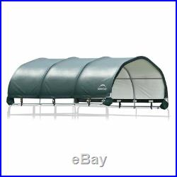 ShelterLogic Corral 12 x 12 ft. Shelter, Green, 12 x 12