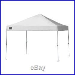 ShelterLogic Weekender Elite WE100 10' x 10' Straight Leg Pop Up Canopy, White