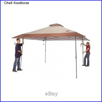 Shelter Coleman Home Instant 13'x13' Yard Wheeled Carry Bag Canopy Sun BBQ