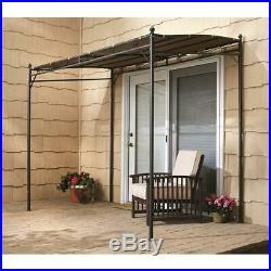 Small Gazebo Backyard Sun Canopy Shade Patio 5x8 Foot Heavy Duty Polyester