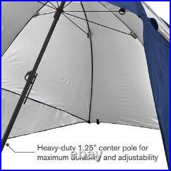 Sport-Brella Sunsoul Heavy-Duty UPF 50+ Umbrella Shelter 8-Foot