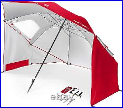 Sport-Brella Super-Brella SPF 50+ Sun and Rain Canopy Umbrella for Beach